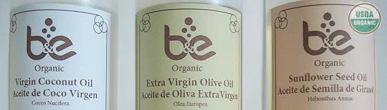 Aceites Organicos, USDA/ORGANIC, Puerto Rico