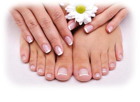 receta uñas manos y pies