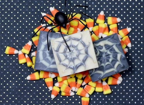 telas de arana - saponificacion
